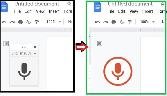 Google Voice Typing di Google Docs Tidak Muncul