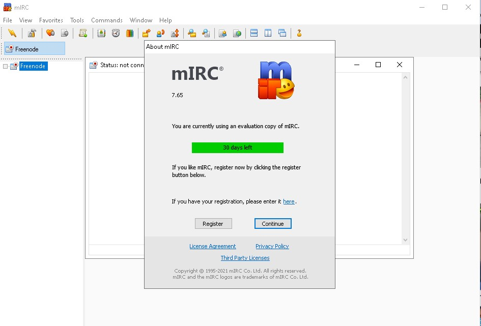 Aplikasi Chatting Jadul mIRC masih adakah … ?
